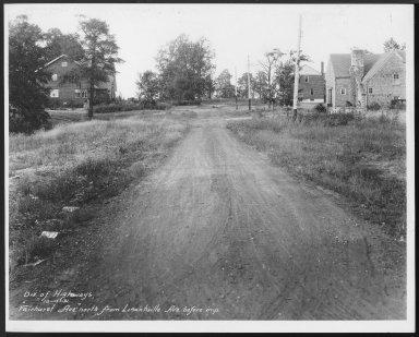 Street Improvement Photographs -- Box 23, Folder 15 (Fairhurst Avenue) -- print, 1931-10-15