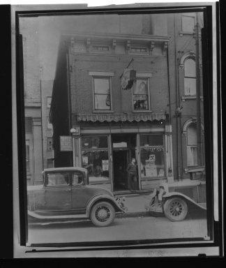 Street Improvement Photographs -- Box 23, Folder 22 (Fifth Street) -- print, 1928