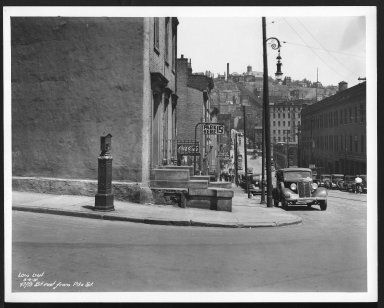 Street Improvement Photographs -- Box 23, Folder 22 (Fifth Street) -- print, 1937-05-06