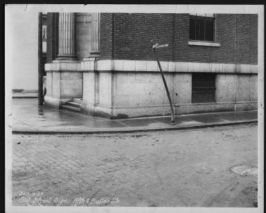 Street Improvement Photographs -- Box 23, Folder 23 (Fifth Street) -- print, 1927-01-03