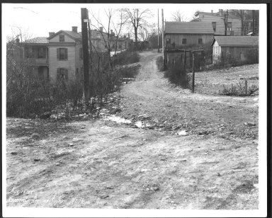 Street Improvement Photographs -- Box 23, Folder 34 (Gabriel Avenue) -- print, 1927-11-14
