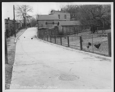 Street Improvement Photographs -- Box 23, Folder 34 (Gabriel Avenue) -- print, 1929-03-27