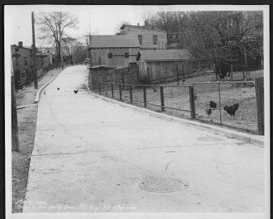 Street Improvement Photographs -- Box 23, Folder 34 (Gabriel Avenue) -- print, 1929-03-27
