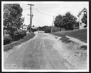 Street Improvement Photographs -- Box 23, Folder 37 (Gate Street) -- print, 1932-07-15