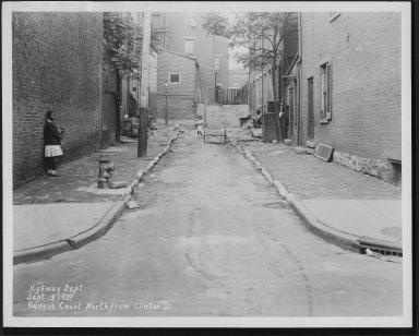 Street Improvement Photographs -- Box 23, Folder 39 (Geneva Street) -- print, 1930-05-05
