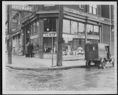 Street Improvement Photographs -- Box 23, Folder 42 (Gilbert Avenue) -- print, 1927-01-03