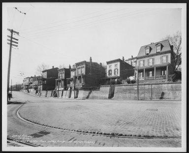 Street Improvement Photographs -- Box 23, Folder 55 (Glenway Avenue) -- print, 1938-03-21