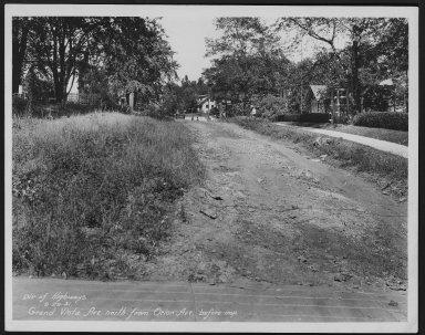 Street Improvement Photographs -- Box 23, Folder 58 (Grand Vista Avenue) -- print, 1931-09-29
