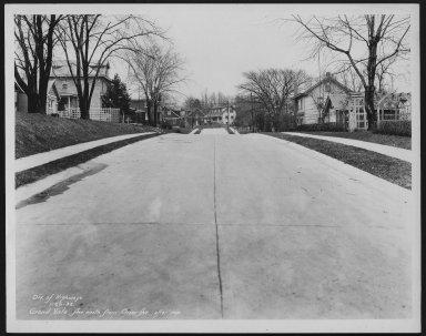 Street Improvement Photographs -- Box 23, Folder 58 (Grand Vista Avenue) -- print, 1932-01-20