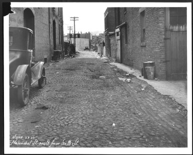 Street Improvement Photographs -- Box 23, Folder 66 (Hannibal Street) -- print, 1927-06-23