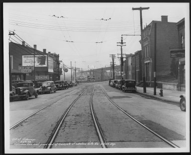 Street Improvement Photographs -- Box 24, Folder 01 (Harrison Avenue) -- print, 1938-02-23