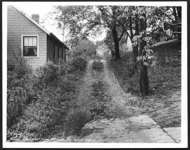 Street Improvement Photographs -- Box 24, Folder 07 (Harry Avenue) -- print, 1930-09-12