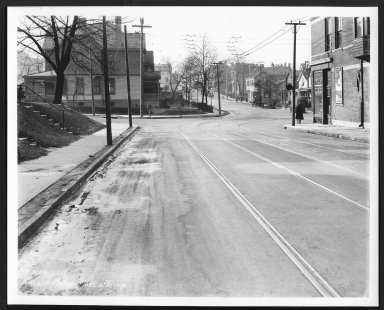 Street Improvement Photographs -- Box 24, Folder 14 (Harvey Avenue) -- print, 1928-02-03