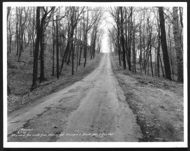 Street Improvement Photographs -- Box 24, Folder 19 (Hayward Avenue) -- print, 1935-02-07