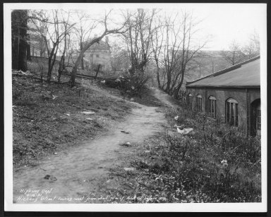 Street Improvement Photographs -- Box 24, Folder 31 (Hickory Avenue) -- print, 1931-04-18