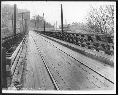 Street Improvement Photographs -- Box 24, Folder 53 (Ida Street Bridge) -- print, 1931-02-14