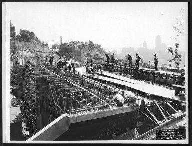 Street Improvement Photographs -- Box 24, Folder 53 (Ida Street Bridge) -- print, 1931-05-26