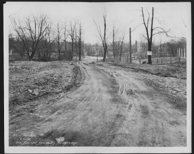 Street Improvement Photographs -- Box 24, Folder 58 (Iris Avenue) -- print, 1932-03-20