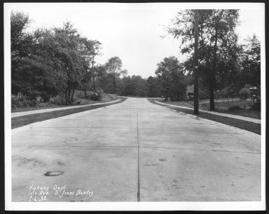 Street Improvement Photographs -- Box 24, Folder 58 (Iris Avenue) -- print, 1932-07-02