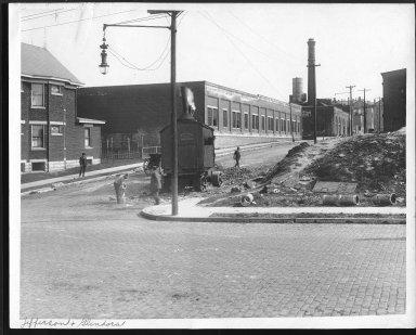 Street Improvement Photographs -- Box 24, Folder 65 (Jefferson Street) -- print, 1917-04-16