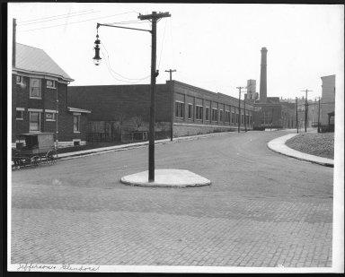 Street Improvement Photographs -- Box 24, Folder 65 (Jefferson Street) -- print, 1917