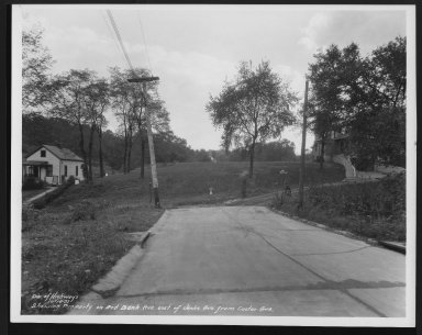 Street Improvement Photographs -- Box 24, Folder 66 (Jenks Street) -- print, 1937-10-14