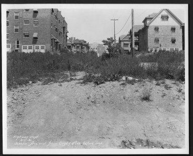 Street Improvement Photographs -- Box 24, Folder 68 (Joselin Street) -- print, 1931-06-17
