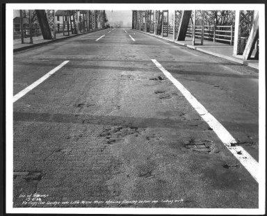 Street Improvement Photographs -- Box 25, Folder 09 (Kellogg Avenue) -- print, 1938-12-06