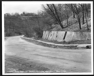 Street Improvement Photographs -- Box 25, Folder 11 (Kemper Lane) -- print, 1938-03-01