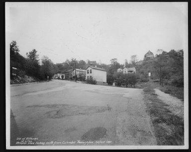 Street Improvement Photographs -- Box 25, Folder 11 (Kemper Lane) -- print, 1936-10-21
