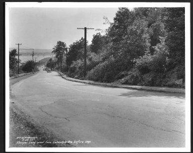 Street Improvement Photographs -- Box 25, Folder 11 (Kemper Lane) -- print, 1937-05-25