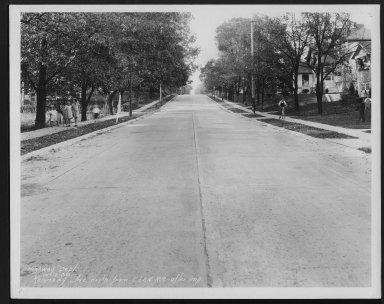 Street Improvement Photographs -- Box 25, Folder 12 (Kennedy Avenue) -- print, 1930-10-12