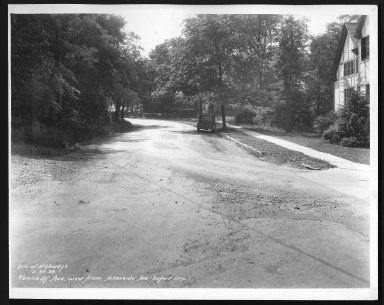 Street Improvement Photographs -- Box 25, Folder 12 (Kennedy Avenue) -- print, 1934-05-31