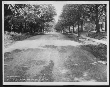 Street Improvement Photographs -- Box 25, Folder 13 (Kennedy Avenue) -- print, 1934-05-31