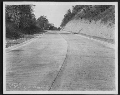 Street Improvement Photographs -- Box 25, Folder 13 (Kennedy Avenue) -- print, 1934-09-27