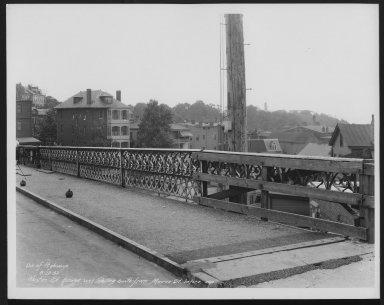 Street Improvement Photographs -- Box 25, Folder 15 (Kenton Street Bridge) -- print, 1932-08-23