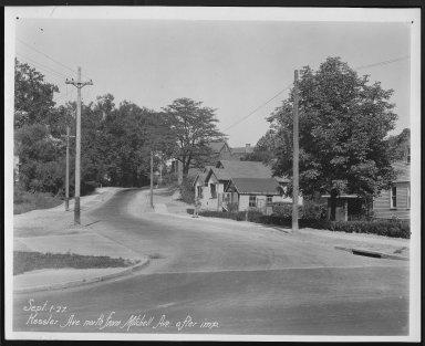 Street Improvement Photographs -- Box 25, Folder 16 (Kessler Avenue) -- print, 1927-09-01