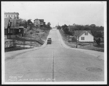 Street Improvement Photographs -- Box 25, Folder 21 (Kleemeier Avenue) -- print, 1931-05-05