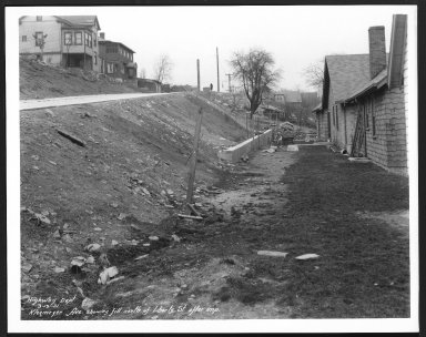 Street Improvement Photographs -- Box 25, Folder 21 (Kleemeier Avenue) -- print, 1931-03-13