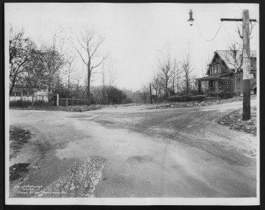 Street Improvement Photographs -- Box 25, Folder 25 (Knox Street) -- print, 1935-11-01