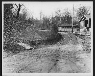 Street Improvement Photographs -- Box 25, Folder 25 (Knox Street) -- print, 1935-11-20