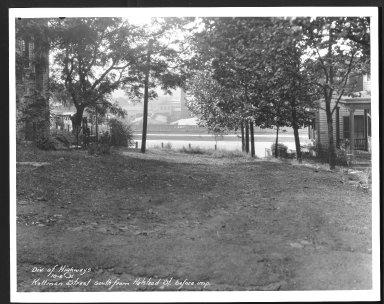 Street Improvement Photographs -- Box 25, Folder 27 (Kottman Street) -- print, 1931-10-06