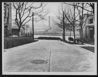 Street Improvement Photographs -- Box 25, Folder 27 (Kottman Street) -- print, 1931-12-23