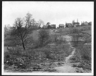 Street Improvement Photographs -- Box 25, Folder 29 (Kreis Lane) -- print, 1934-04-26