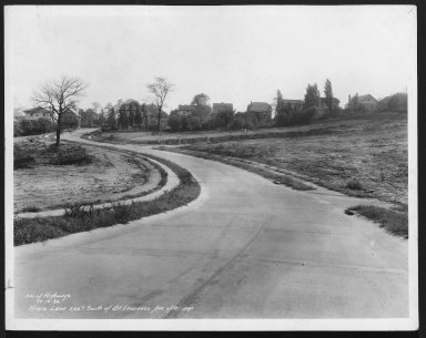 Street Improvement Photographs -- Box 25, Folder 29 (Kreis Lane) -- print, 1934-10-19