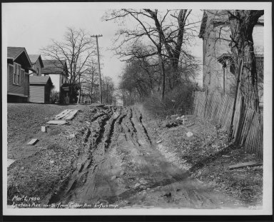 Street Improvement Photographs -- Box 25, Folder 41 (Lantana Avenue) -- print, 1929-03-06
