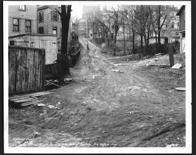 Street Improvement Photographs -- Box 25, Folder 43 (La Salle Street) -- print, 1931-01-29