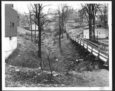 Street Improvement Photographs -- Box 25, Folder 43 (La Salle Street) -- print, 1931-01-29