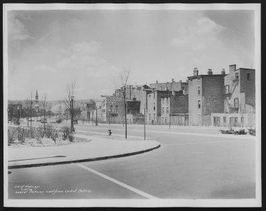 Street Improvement Photographs -- Box 25, Folder 46 (Laurel Parkway) -- print, 1934-04-16
