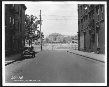 Street Improvement Photographs -- Box 25, Folder 47 (Laurel Parkway) -- print, 1932-06-30